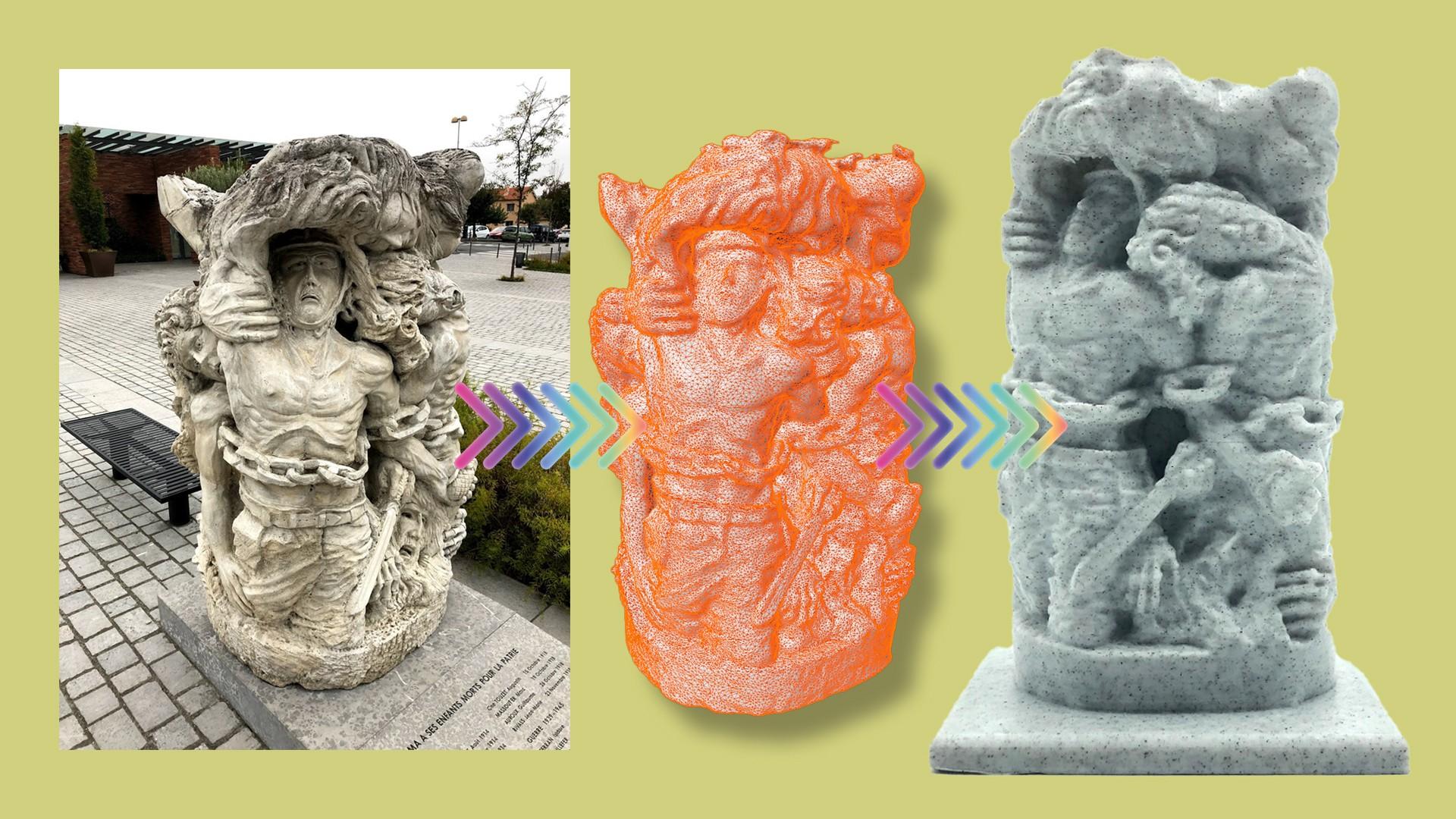 Fotogrametría de monumento en Balma