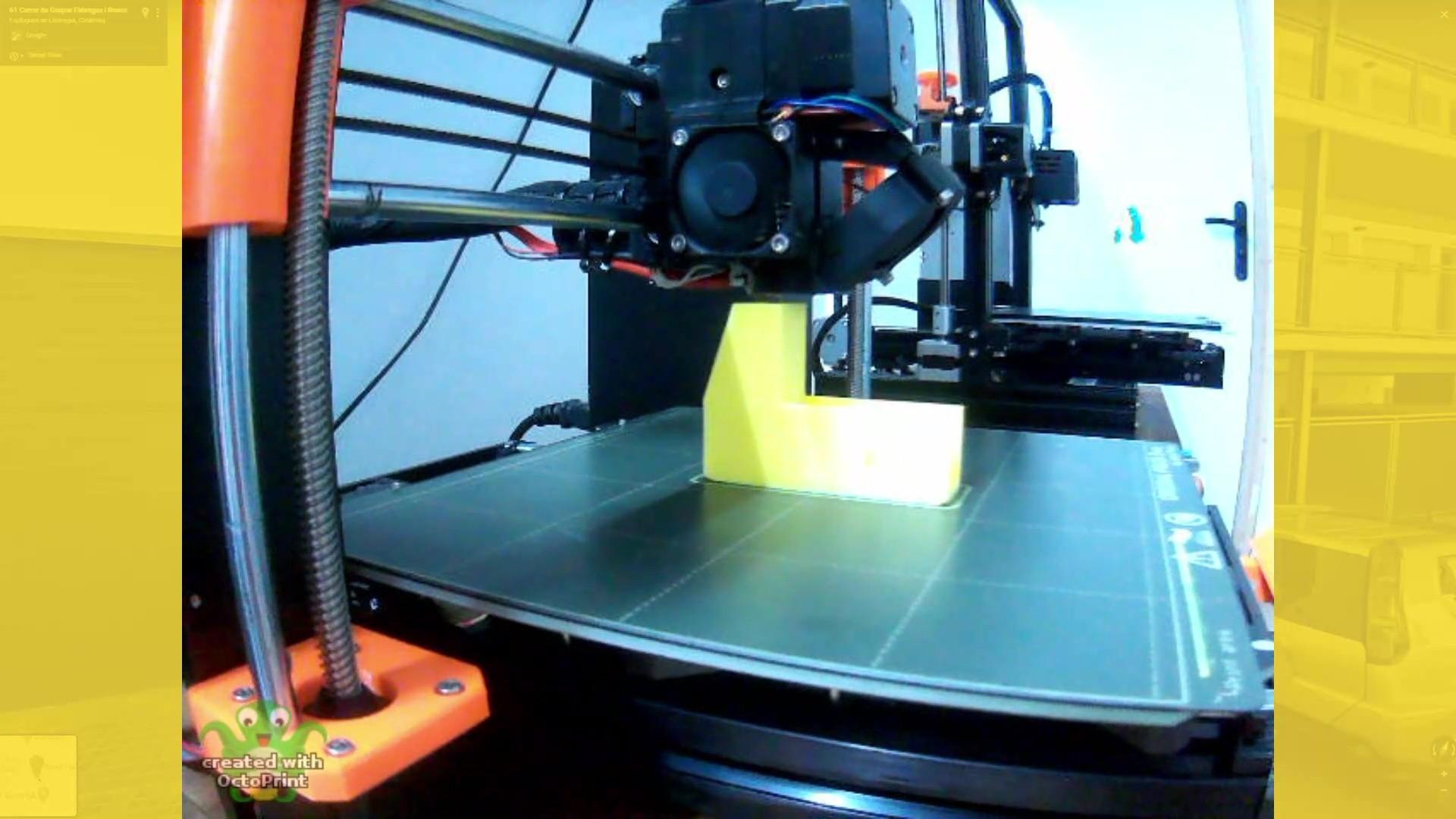 Impresión 3D de piezas para maquina retractiladora