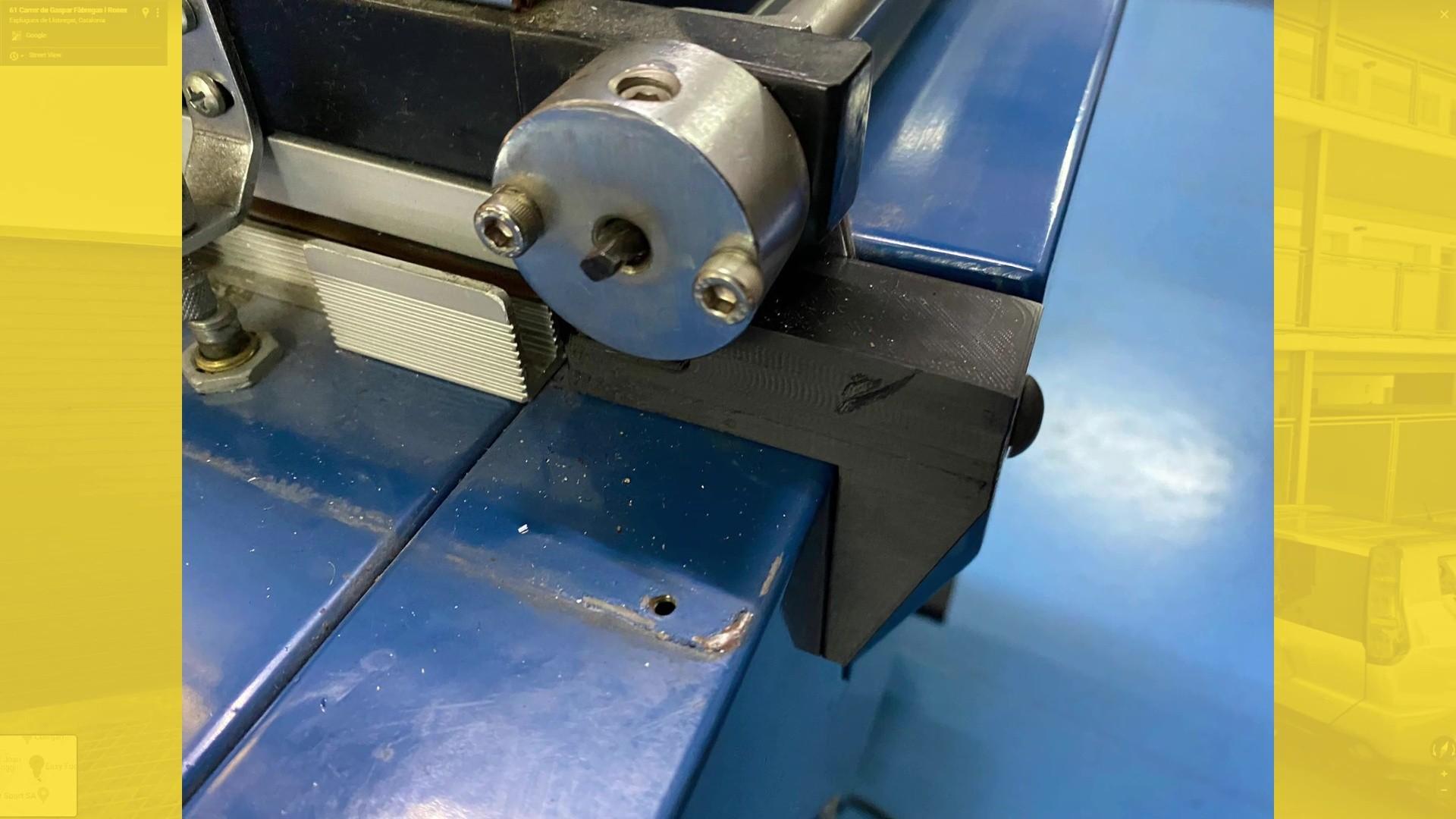 Pieza fabricada en ASA para maquina retractiladora<