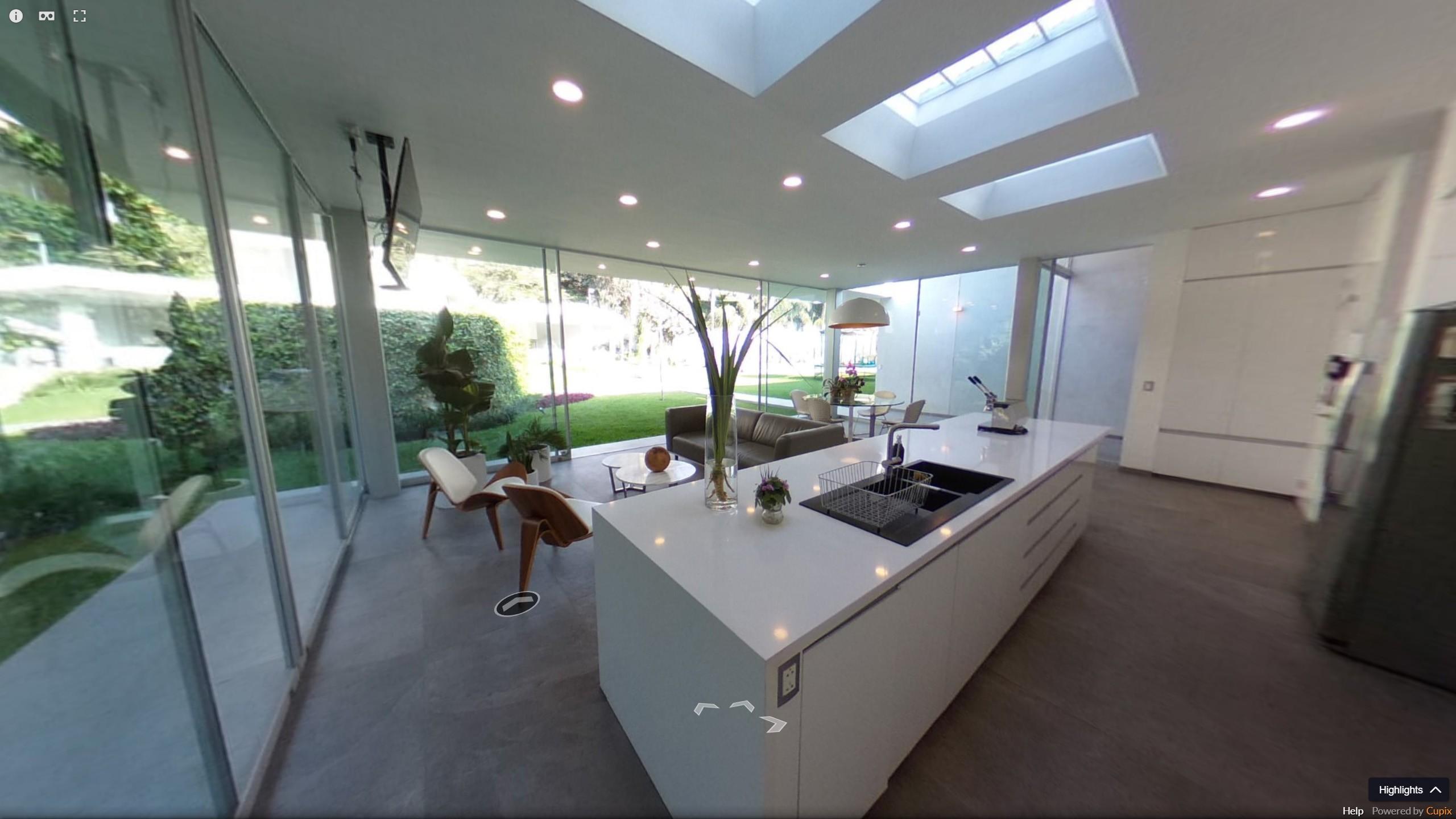 visite virtuelle 360° maison lima perou