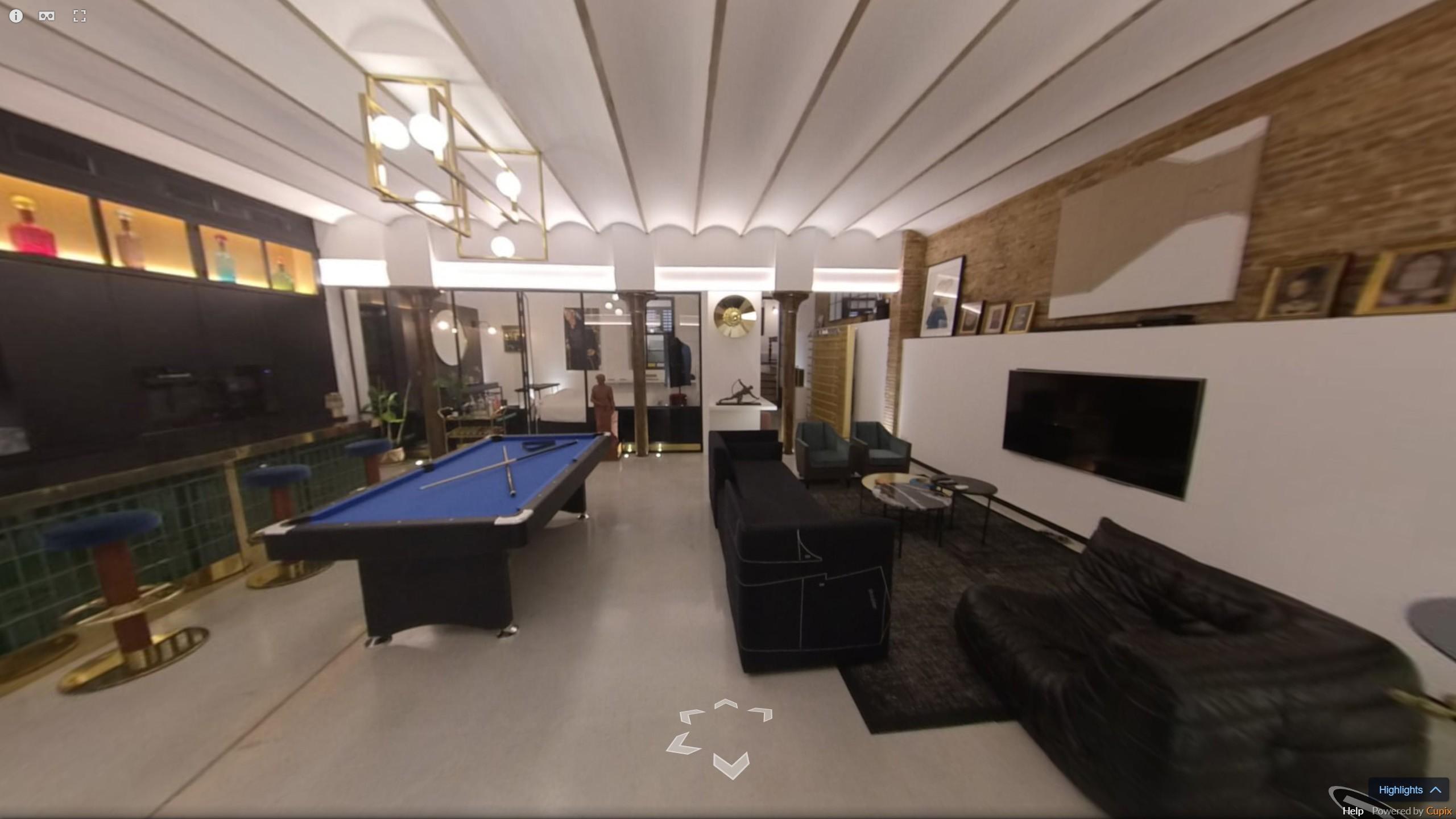 visite virtuelle 360° appartement Barcelone