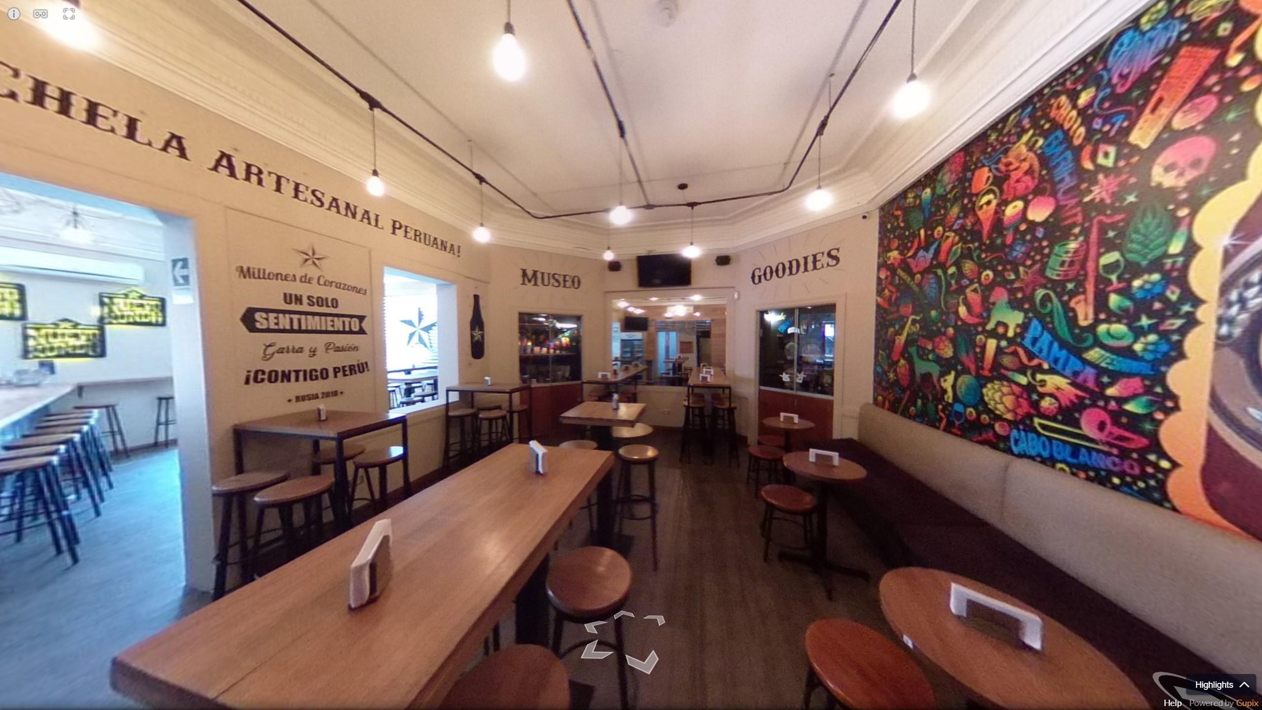 Visite virtuelle 360° Bar Nuevo Mundo, Perou